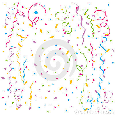 Free Vector Confetti Stock Images - 6926914