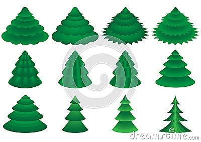 Vector conifers