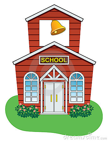 Free Vector Country School House Royalty Free Stock Photo - 23126905