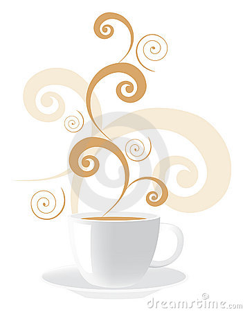 Free Vector Cup Of Coffee Royalty Free Stock Images - 13908929