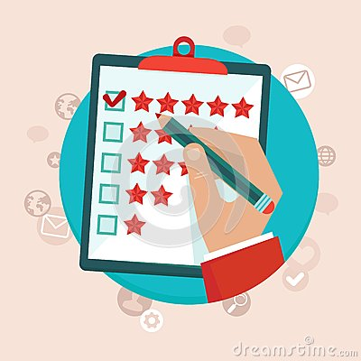 Free Vector Customer Feedback Concept In Flat Style Stock Images - 38295474