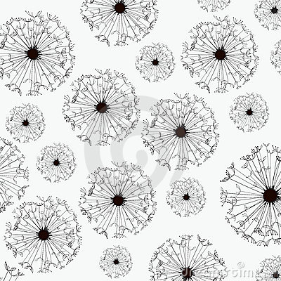 Vector Dandelion Wallpaper