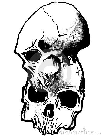 Vector dark art .