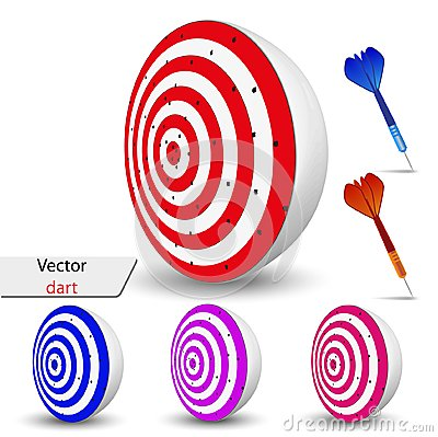 Vector dart for your design