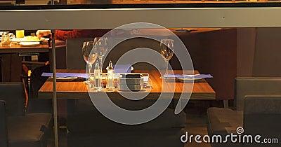 Vector de cena elegante