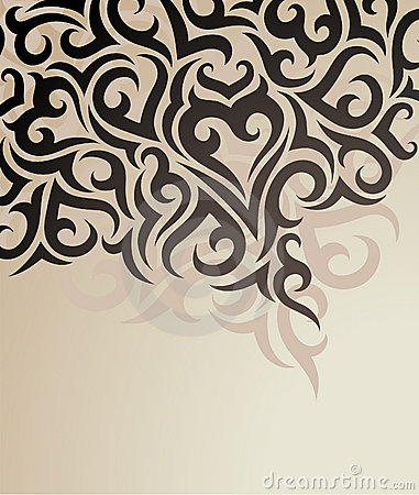 Vector decorative background