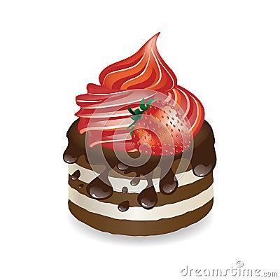 Vector Dessert Royalty Free Stock Image - Image: 19267776