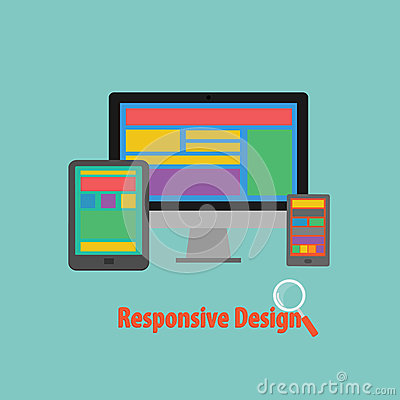 Vector of Device Responsive design