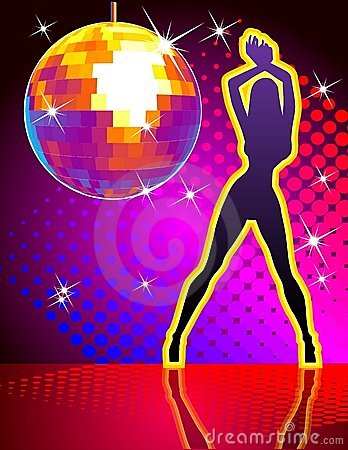 Free Vector Disco Party Royalty Free Stock Photography - 4240547