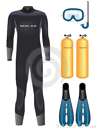 Vector diving equipment