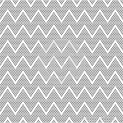 Vector dots symmetric seamless pattern