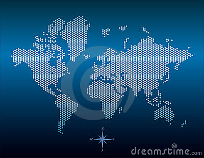 world map vector. world map vector outline.