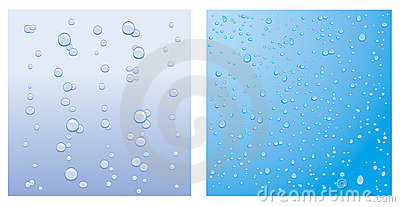 Vector droplet backgrounds