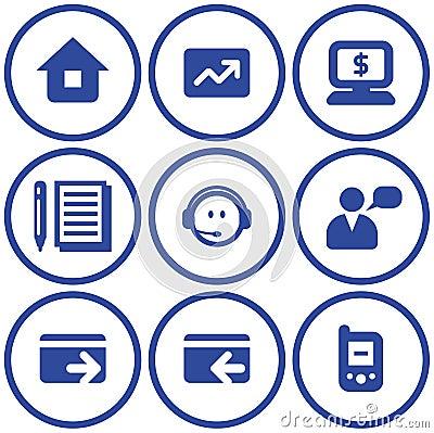 Vector e-commerce icons set