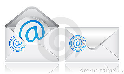 Vector e-mail icons