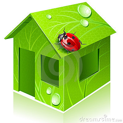 Vector eco-house