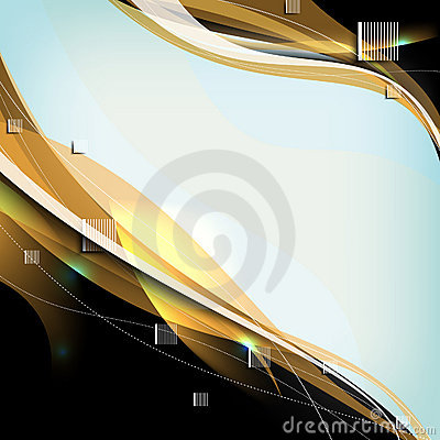Vector elegant wave elements for your background