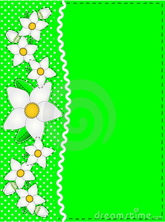 Vector Eps 10 Green Copy Space, Polka Dots, Ric Ra