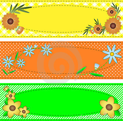 Vector Eps10 Oval Copy Space Trimmed with Flowers