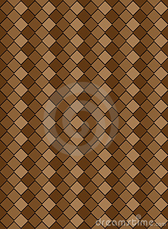 Vector Eps8, Brown Variegated Diamond Pattern