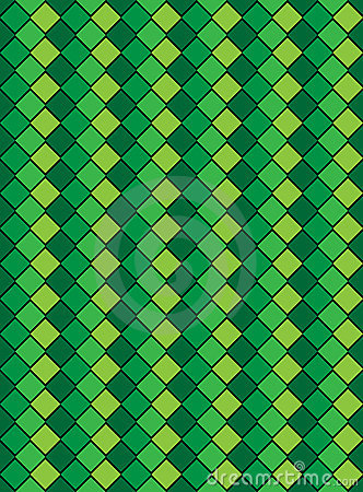 Vector Eps8, Green Variegated Diamond Pattern
