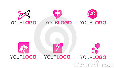 Vector fashion clothing logo