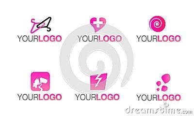 Vector fashion clothing logo
