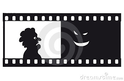 Vector fear filmstrip
