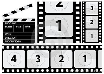 Vector Film Countdown