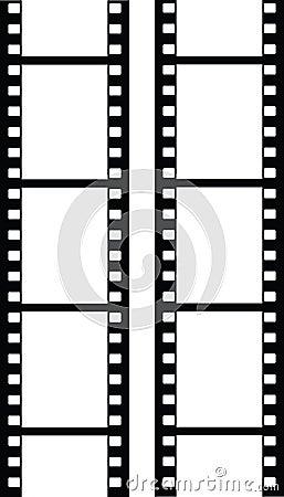 Free Vector Filmstrip Stock Photos - 2988593