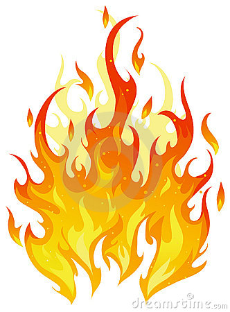 Free Vector Fire Royalty Free Stock Photography - 10821017