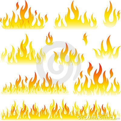 Vector fire designs
