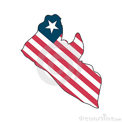 Vector Flag Liberia