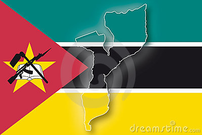 Vector Flag Mozambique