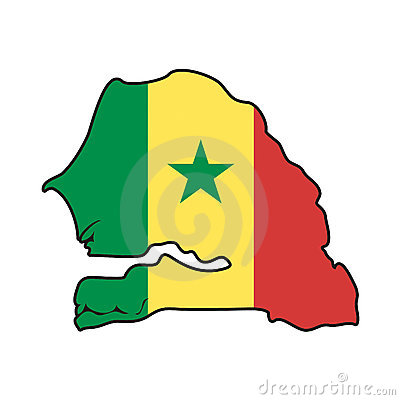 Vector Flag Senegal