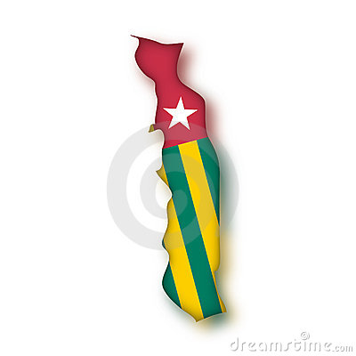 Vector Flag Togo