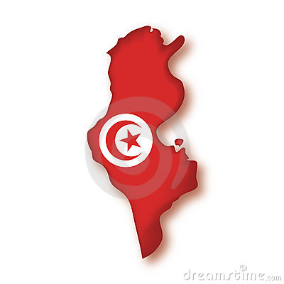 Vector Flag Tunisia