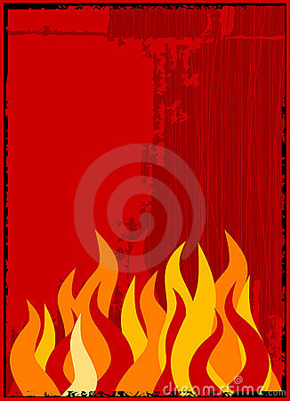 Free Vector Flame Background Stock Image - 2302991