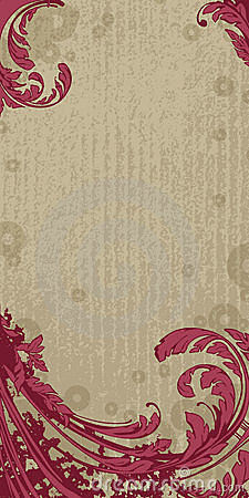 Free Vector Floral Background Stock Images - 1842954