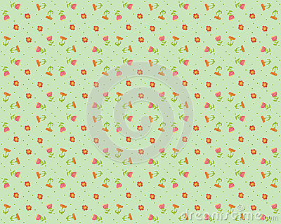 Vector  floral background, pattern