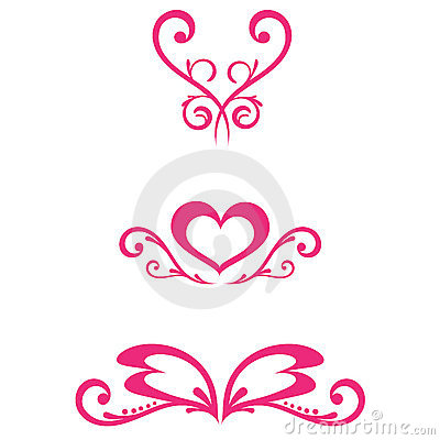 Vector Floral Decorations