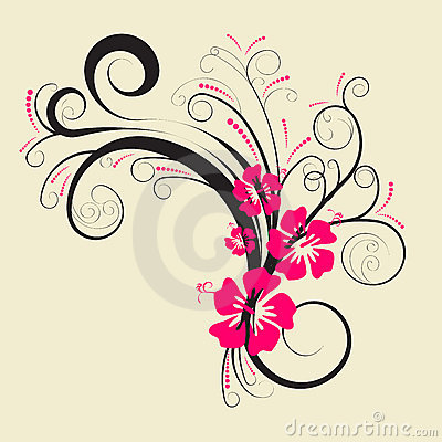 Free Vector Floral Design Stock Images - 2645054