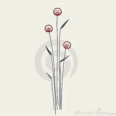 Free Vector Flower Royalty Free Stock Photo - 8533525