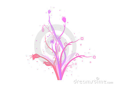 Vector flowers decoration design
