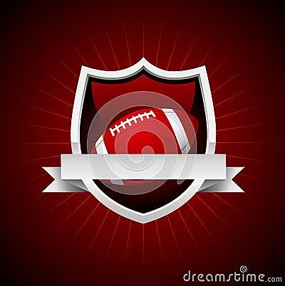 Vector Football Emblem