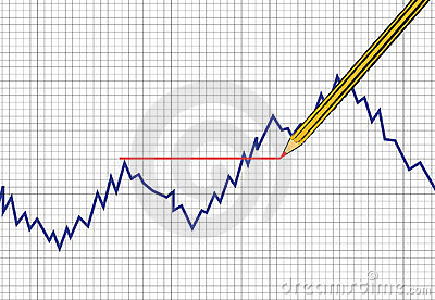 Vector Forex and comodity chart