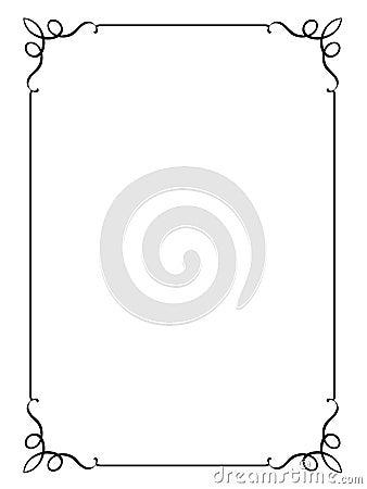 Vector frame. JPG+EPS