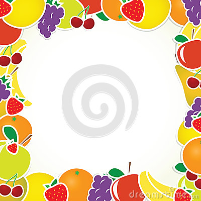 Vector fruit frame