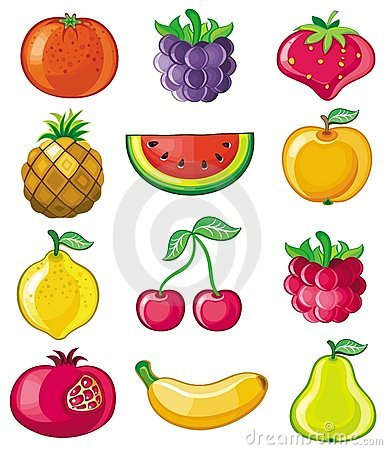 Free Vector Fruits Royalty Free Stock Photo - 8775255