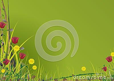 Vector Garden Green